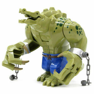 Big Size Crocodile Killer Croc - Batman Theme Minifigures Block Gift Toys UK