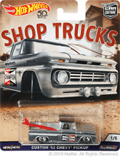 Hot Wheels Car Culture Shop Trucks Custom '62 Chevy Pickup Champion