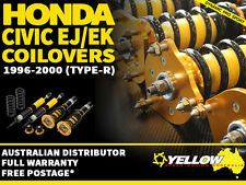 YELLOW-SPEED RACING COILOVERS Honda Civic EJ/EK 1996-2000 inc Type-R yellowspeed