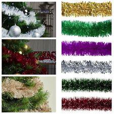 Tannengirlande Weihnachtsgirlande Tannenbaum Girlande Deko für Innen Außen 190cm