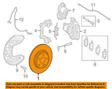 MERCEDES OEM 13-18 SL63 AMG Rear Brake-Rotor 2314230212