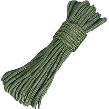 50ft / 15m General Purpose Utility Rope Purlon Paracord String Green 3mm Loose