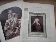 CHATROUSSE cliché photoglyptie NADAR Galería Contemporáneo 1880 MARVILLE