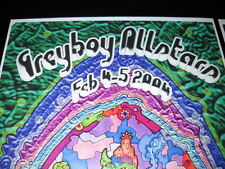 Greyboy Allstars Fox Theater Feb.4+5,2004 Nemo Portal Concert Posters Lot-New