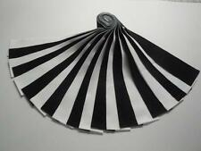 "Jelly Roll ""Tuxedo"" Kona Cotton-20-2-1/2"" x WOF Strips-Black & White"