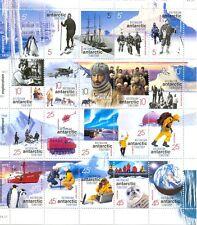 Australian Antarctic-Exploration centenaire feuille. Neuf sans Charnière (lot de 20) 2001 neuf sans charnière