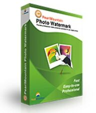 PearlMountain Photo Watermark, protect Photo copyright with image text logo