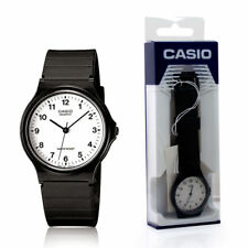 BRAND NEW  CASIO UNISEX  MQ24-7BLL Analougue Display and Black Resin Strap !!!!