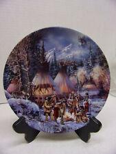 Kirk Randle Wolf Dance Indian Plate #1