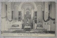 """CPA """" POITIERS - Patronage St Joseph - La Chapelle"""