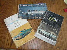 1965 1966 1967 Oldsmobile Owner's Manuals - Lot of 3 items