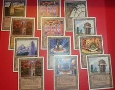 4 x Urza's POTENZA pianta,Torre,Mine - Urzatron Lands - MTG - Magic The