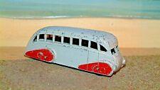 Dinky Toy. 29B. Streamlined Luxury Coach. Scarce Grey & Maroon Livery. No Box.