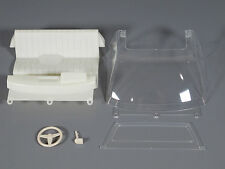 Tamiya RC 1/10 Toyota Hilux Bruiser RC4WD Seat steering wheel Window Windshield