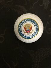 RONALD REGAN Official Presidential Golf Ball Vintage 1982 White House -Free Ship