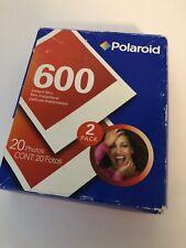 Polaroid 600 Instant Film 20 Exposures Sealed Unopened Expired O3/07