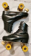 Riedell 192 Red Wing Mn. Roller Skates Satin Roll 56 Chicago Trophy Size 8 Mens