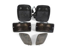 1998-2006 JEEP WRANGLER TJ DEPO SMOKE TAIL LIGHTS + BUMPER SIGNAL + SIDE MARKERS