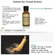 para Andrea hair growth Essence Caída Del Cabello Tratamiento Jengibre genseng