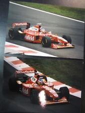 Photo Winfield Williams Mecachrome FW20 1998 #1 J. Villeneuve (GER) GP BEL 2x