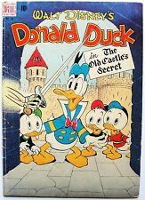 DONALD DUCK In THE OLD CASTLE'S SECRET Four Color #189 VG- Comic 1948 CARL BARKS