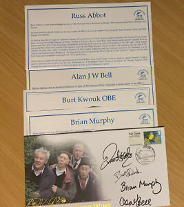 Last Of The Summer Wine Autograph Collection
