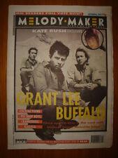 MELODY MAKER 1993 NOV 6 GRANT LEE BUFFALO KATE BUSH