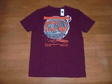 NWT Gap Kids burgundy Scratch DJ shirt boys L / 10