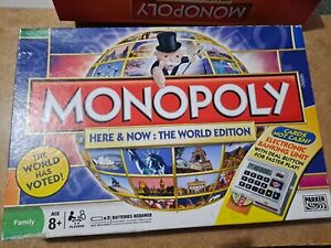 Monopoly Here and Now: The World Edition Electronic Banking by Hasbro