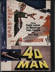 4D Man (1959) - DVD Region 1 / Robert Lansing, Lee Meriwether, Patty Duke