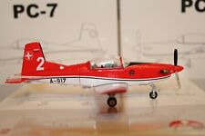 Pilatus PC-7 (A-917) Team / 2 Payerne Air14 , 1:72, Special Ed. for Switzerland