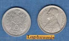 Monaco - Louis II 1922 - 1949 - 10 Francs 1946 - MONACO