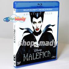 MALEFICA / Maleficent Blu-ray (Región A) + DVD (Región 1, 4)