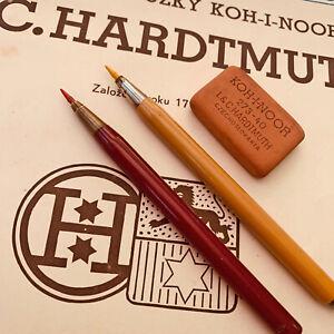 1950s L.C.HARDTMUTH CELLULOID LEADHOLDER DRAFTING ARTIST ANTIQUE PENCIL RARE SET