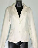 GEORGE ME DESIGNS BY MARK EISEN WOMEN'S  JACKET WHITE LADIES SIZE 12