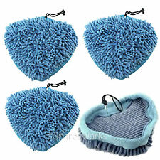 4 Coral Covers Pads for Bissell 3255 1867 Select 23V8E 94E9T Steam Cleaner Mop