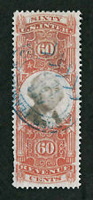 Scott #R142 - 60 Cent George Washington 3Rd Issue Revenue Stamp