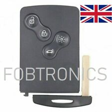 4 BUTTON SMART REMOTE KEY CASE FOB FOR RENAULT LAGUNA MEGANE CLIO (A82)