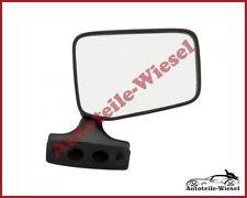 Seitenspiegel Rechts Flach Man. Schwarz für FIAT 126P 09.72-09.00
