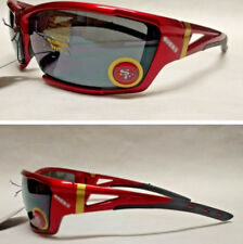 San francisco 49ers sports fan sunglasses ebay san francisco 49ers xlge 3d logo on xtreme dk red wrap sunglasses voltagebd Choice Image