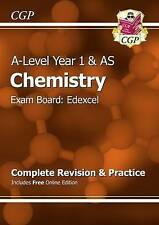 New A-Level Chemistry: Edexcel Year 1 & AS Complete Revision & Practice with Online Edition: Exam Board: Edexcel by CGP Books (Paperback, 2015)