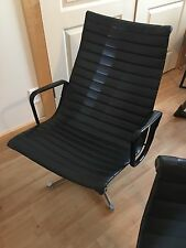 Eames HERMAN MILLER Aluminum Group Lounge Chair Mid-Century Modern