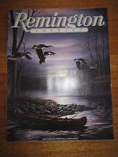 1985 REMINGTON COUNTRY SPORTING FIREARMS & AMMUNITION CATALOG SHOTGUNS RIFLES