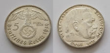 GERMANIA 5 MARCHI 1939 ZECCA ( J )