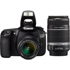 USED Canon EOS 60D with EF-S 18-55mm IS and 55-250mm IS Excellent FREE SHIPPING