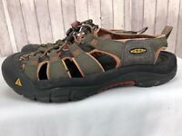 Keen Men's Olive/Brown Waterproof Outdoor Sport Sandals Size US 8.5 / EU 41