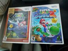 Super Mario galaxy 1 and 2