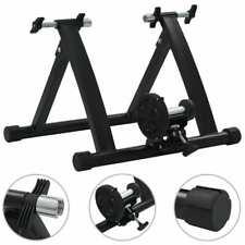 "vidaXL Roller Trainer Black 26""-28"" Steel Exercise Bike Cycle Training Machine"