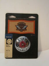 "Harley Softail Dyna Sportster  King  Cloisonne"" Fuel Cap Tank Medallion 99537-96"