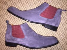 BRUNO MAGLI GIACOMO NAVY BLUE SUEDE LEATHER SIZE 9 SHOES 60813 790